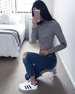 foto en el espejo casual tumblr