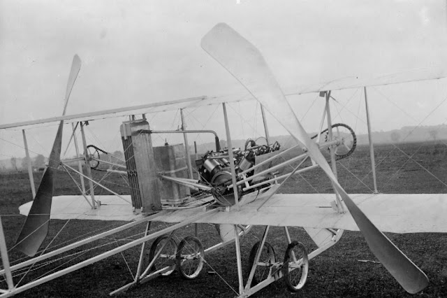 Wright Model R With V8 Piston Engine