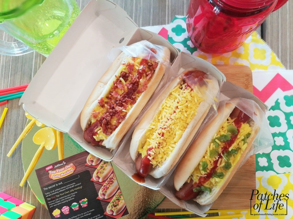 Jollibee: TOP-YOUR-OWN Cheesy Classic Jolly Hotdog! - Patches Of Life