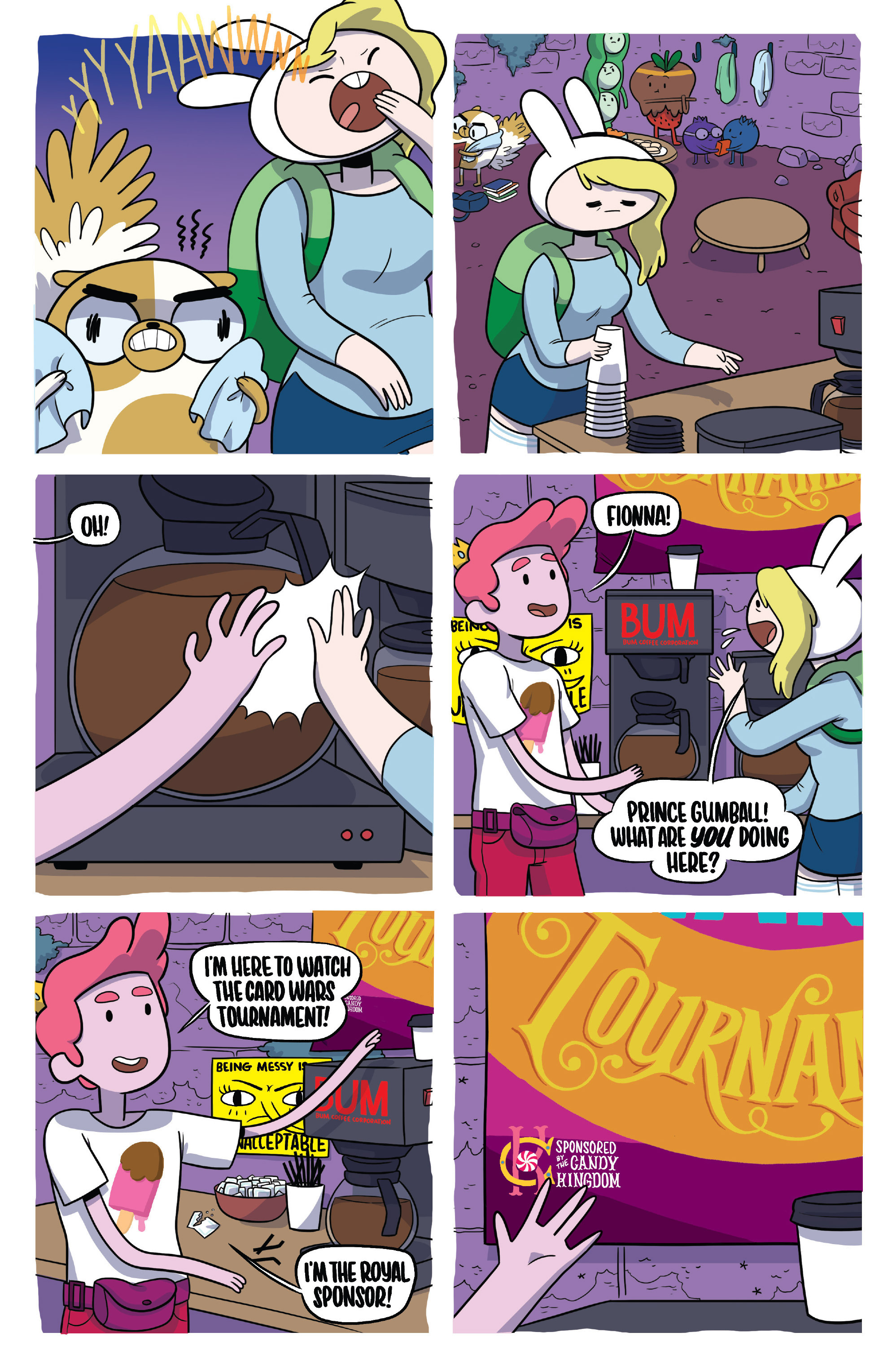 Read online Adventure Time Fionna and Cake Card Wars comic -  Issue #4 - 7