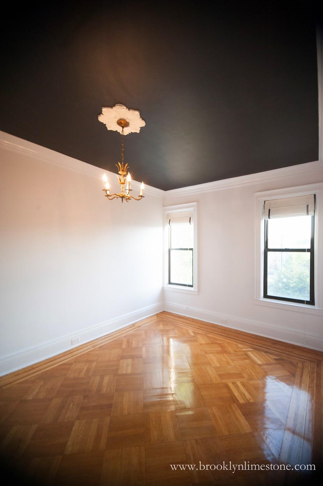 Black Ceiling Love  Brooklyn Limestone