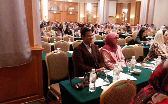 With My Wife Dr. Rabeya Yousuf, ICMHS, 2013, Malaysia