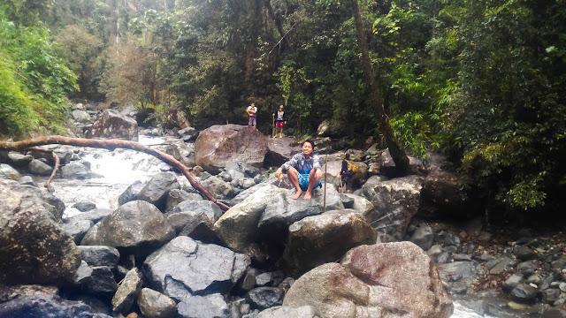 Timmanguyob Falls river crossing