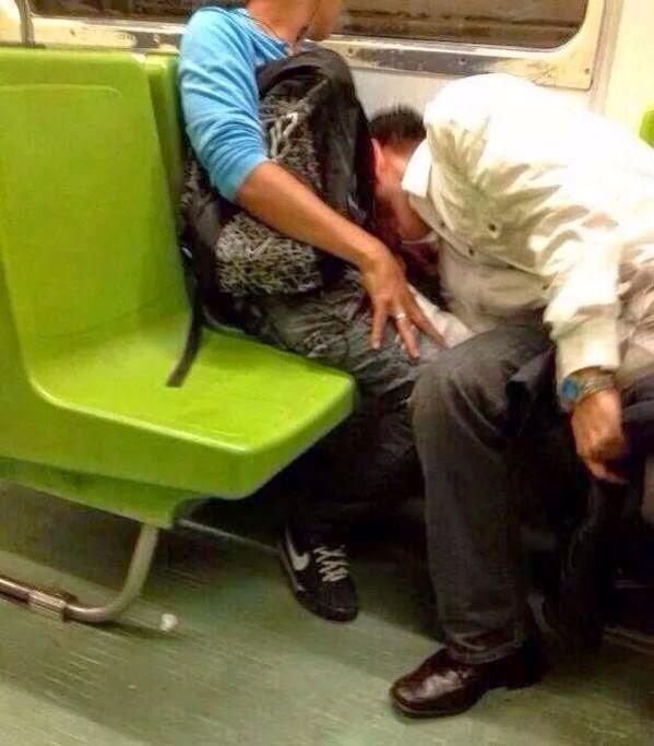 sexo en el metro del df