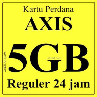 Perdana Internet AXIS 5GB - AXIS Bronet 5GB 24 Jam