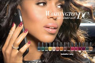 #Concours anniversaire : Tentez de gagner les 15 vernis à ongles de la collection Washington DC d'OPI