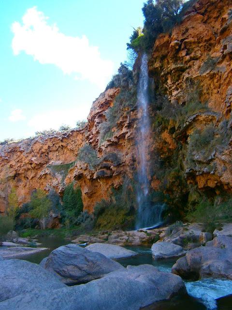 El Salto de la Novia y la Cascada del Brazal, en la localidad de Navajas, Castellón. Autor: Miguel Alejandro Castillo Moya