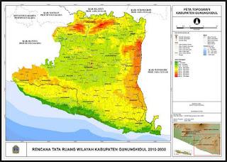Definisi dan Pengertian Peta Topografi