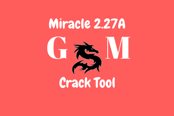 Miracle Crack 2.27A tested 100% tanpa instal!