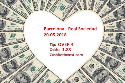 Barcelona - Real Sociedad 20.05.2018 - Cash Bet Invest
