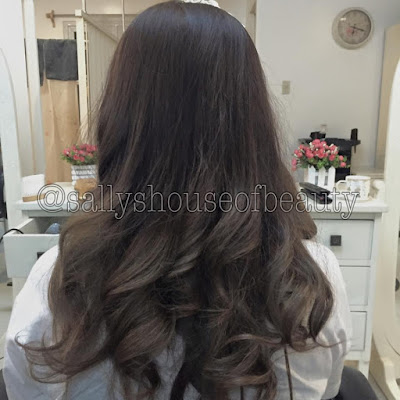 Sally's House of beauty hair finish