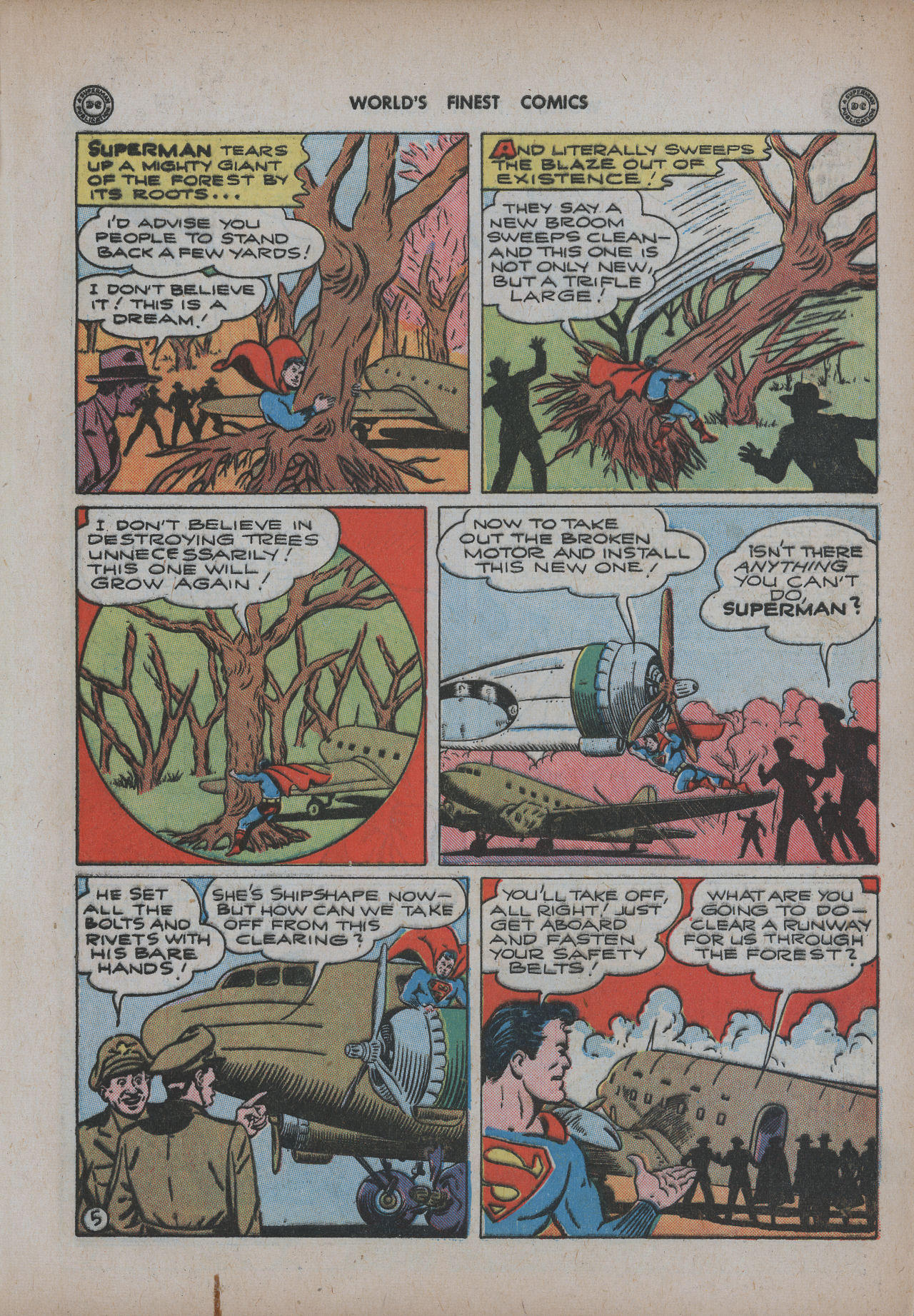 Read online World's Finest Comics comic -  Issue #20 - 7
