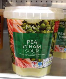 M&S Pea & Ham Soup
