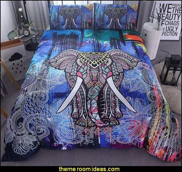 Bohemian Bedding Mandala Duvet Cover Set