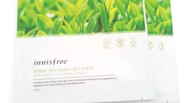 Innisfree Green Tea Hydro Gel Mask Review
