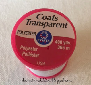 Coats Transparent thread polyester spool