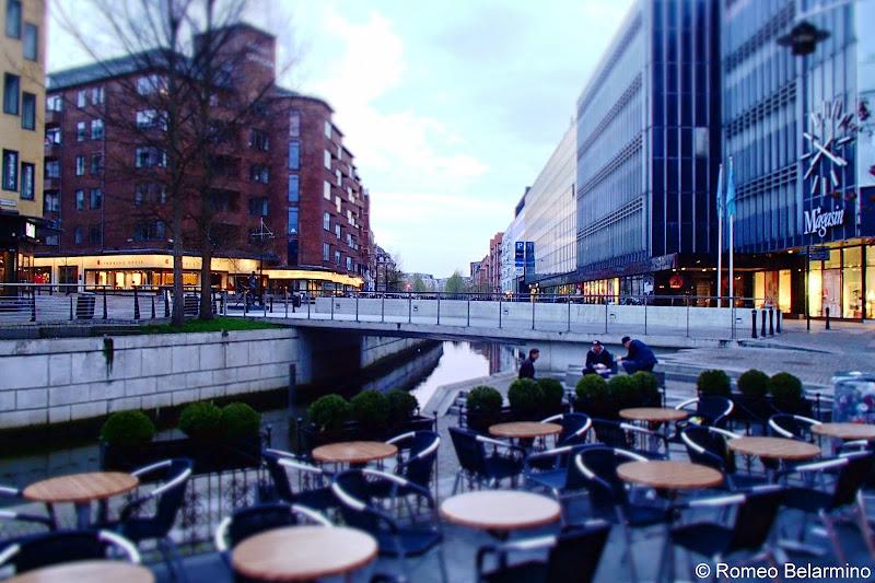 Aarhus Canal Restaurants Denmark