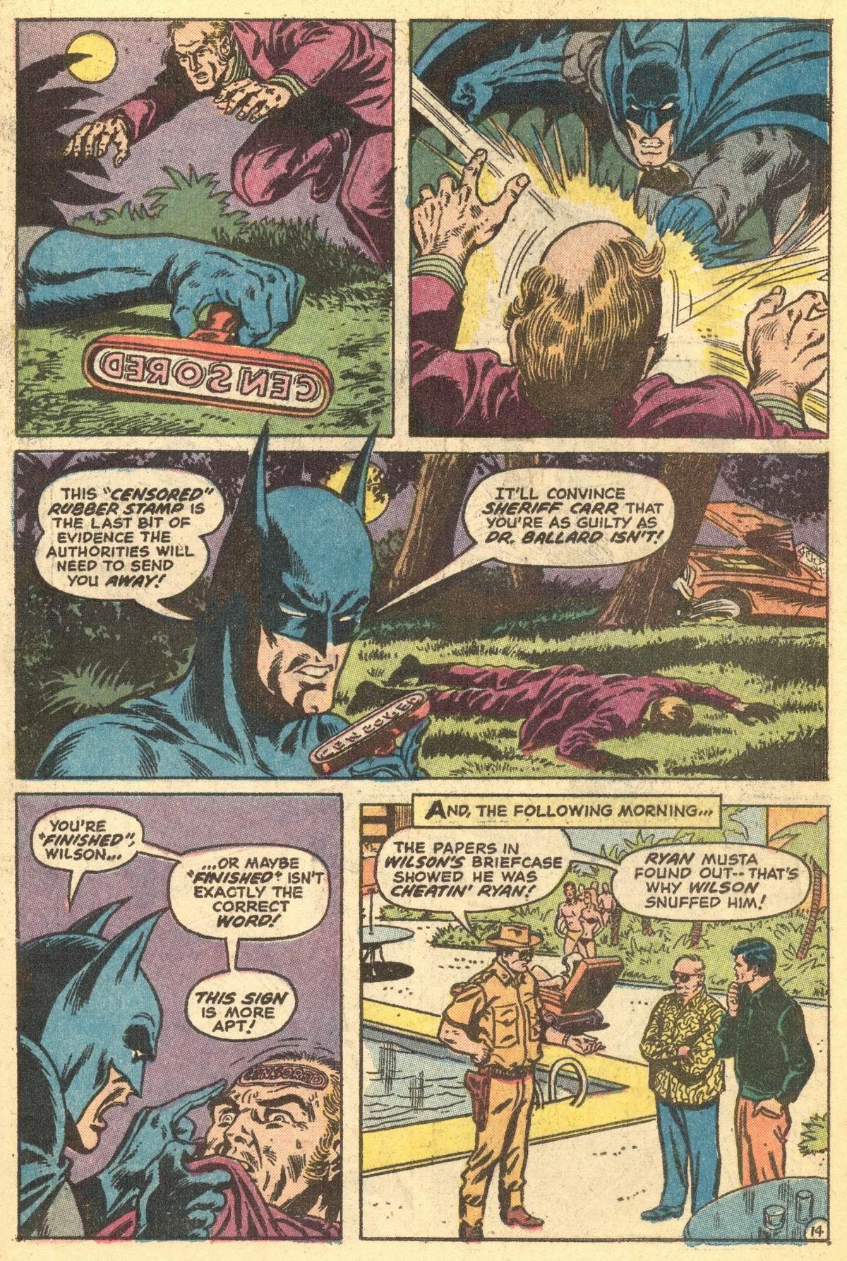 Detective Comics (1937) 431 Page 17