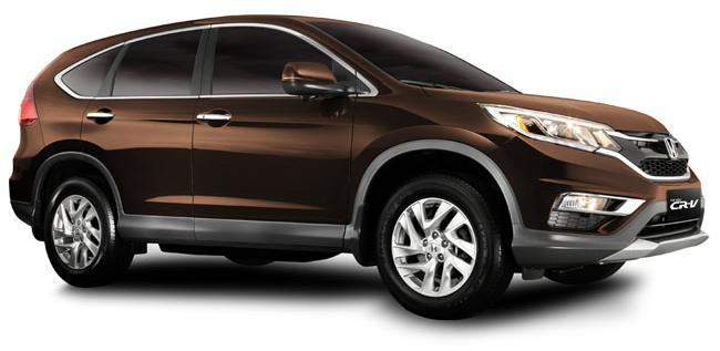 New CR-V 2.4 SX Gold Brown Metallic Limited Edition