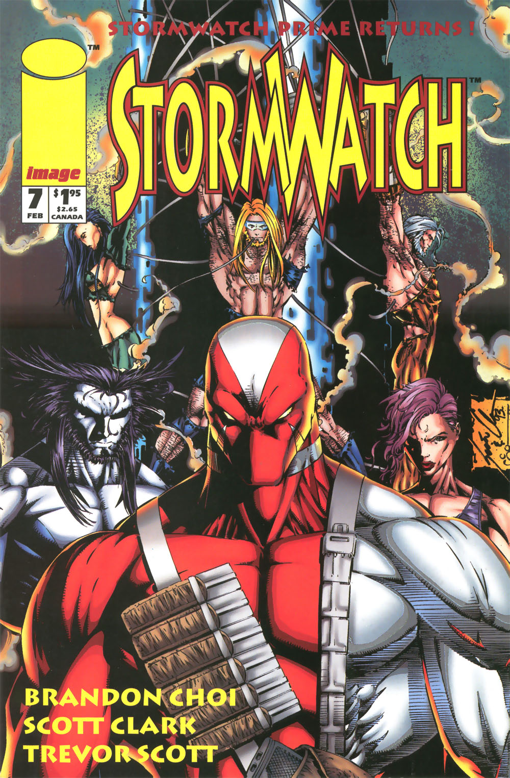 Stormwatch (1993) issue 7 - Page 1