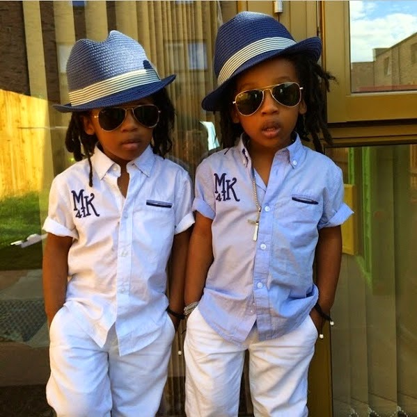 Photos Charly Boy S Grandsons Twins Michael Amp Daniel