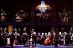 Representación de la ópera La Traviata, de Verdi