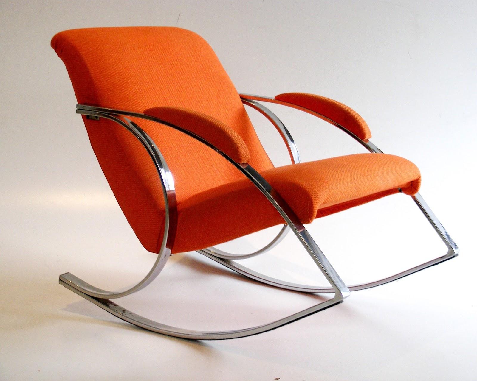 finest selection 69aef 30a45 VAMP FURNITURE: Vintage chrome rocking chair_15 December 2017