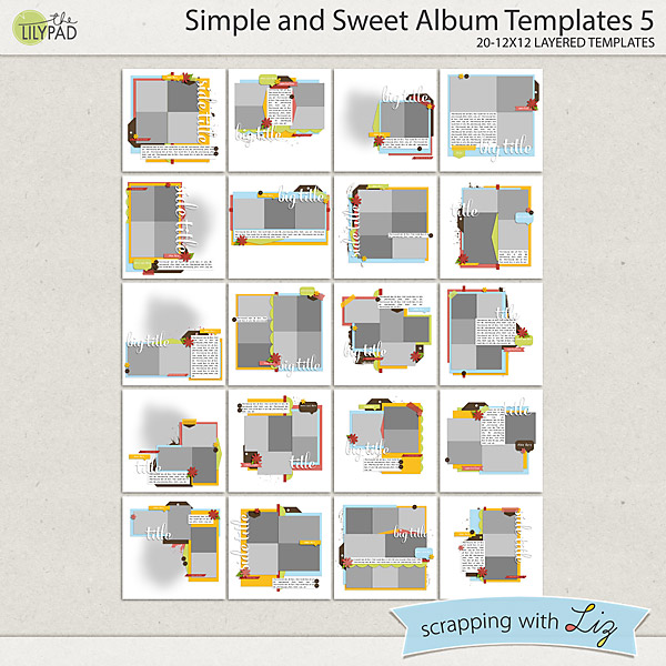 http://the-lilypad.com/store/Simple-and-Sweet-Album-5-Digital-Scrapbook-Templates.html