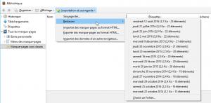 - حفظ أو تصدير المفضلة من موزيلا فايرفوكس Mozilla Firefox