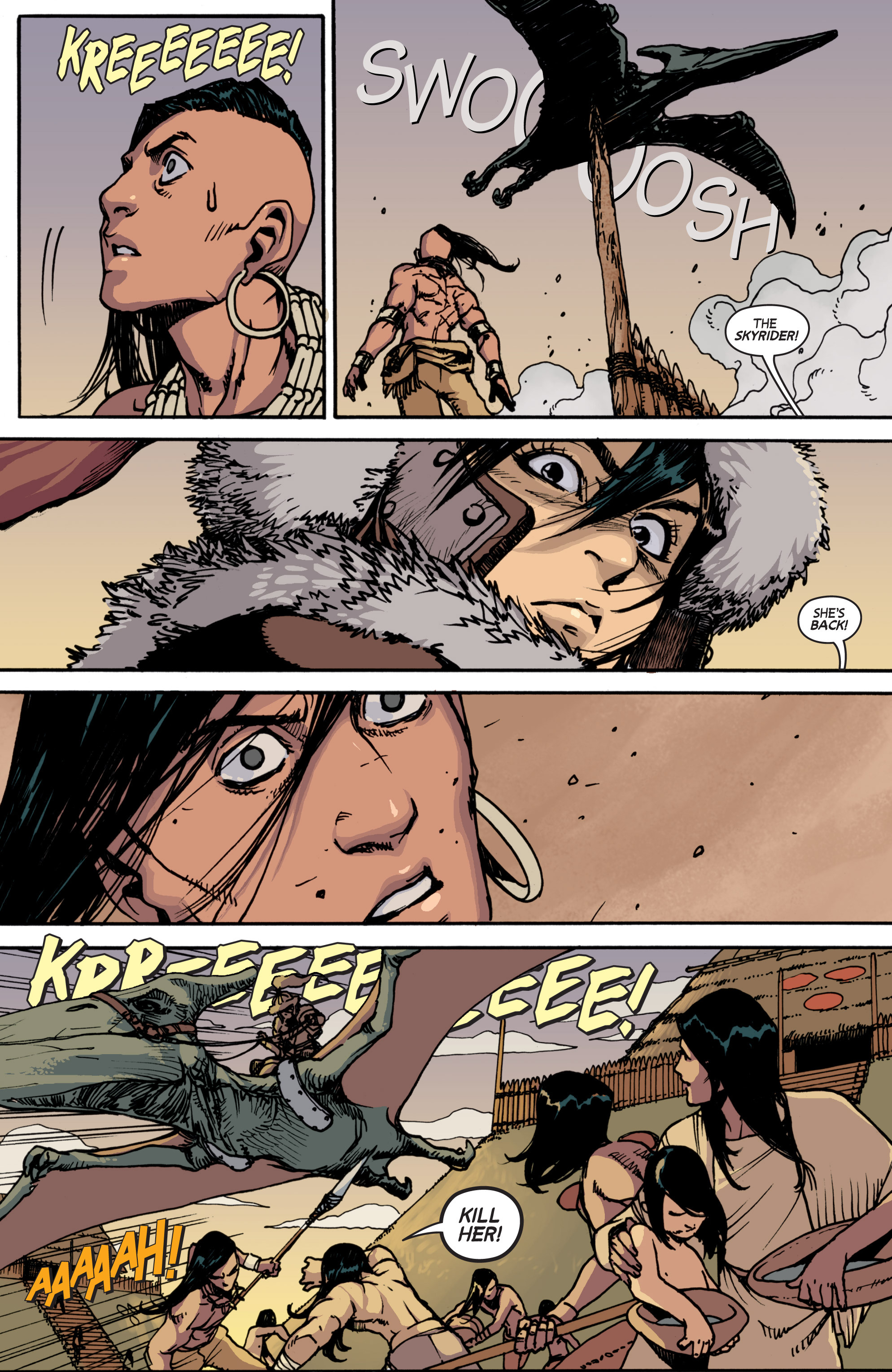 Read online Turok: Dinosaur Hunter (2014) comic -  Issue # _TPB 2 - 35