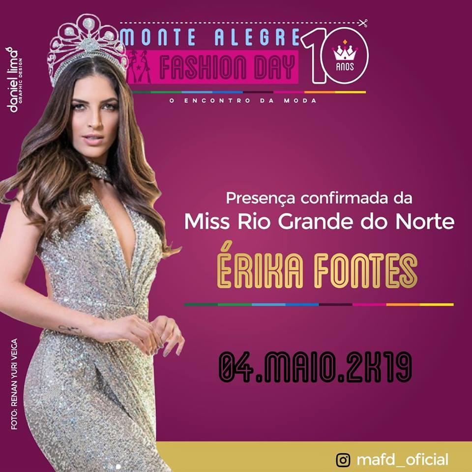 b45ebd1f3 No próximo dia 04 de Maio, acontecerá na cidade sorriso do agreste potiguar  a 10ª edição do Monte Alegre Fashion Day 2019, á qual tem a presença  confirmada ...