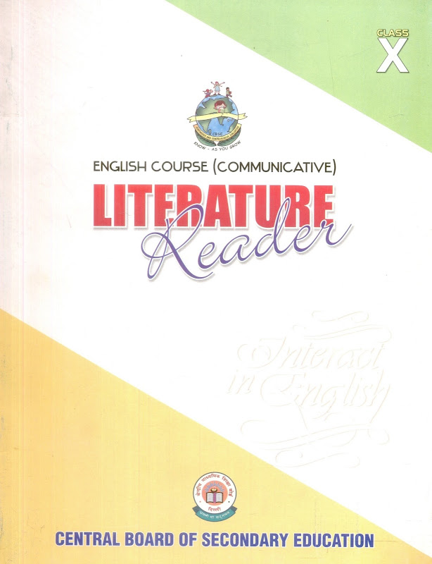 ncert solution for class 10 english
