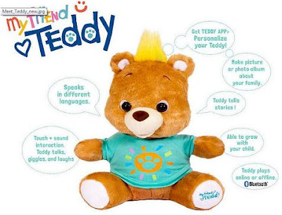 my friend teddy features