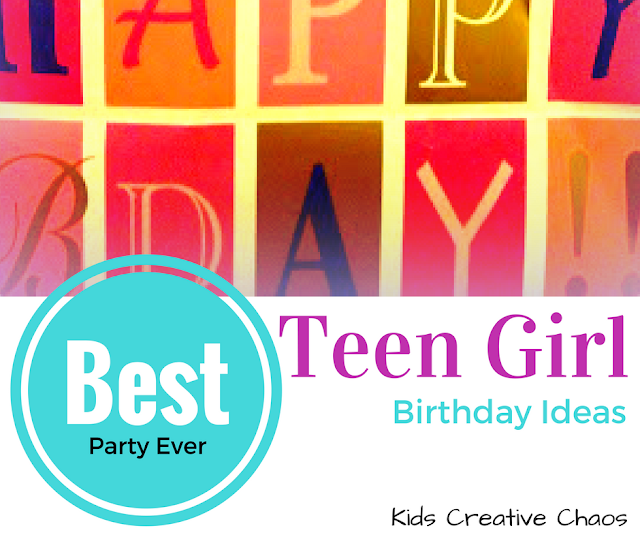 Cool Birthday parties for teenagers