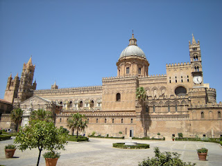 Palermo's striking Metropolitan Cathedral of the  Assumption of Virgin Mary