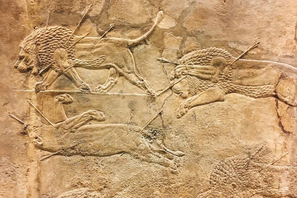 アッシリアのライオン狩り(Assyrian Lion-hunts)