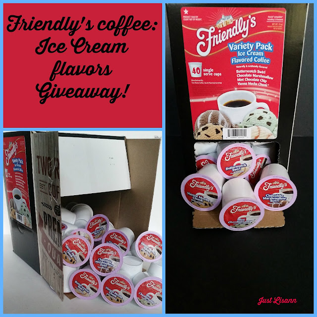 Friendly's Ice Cream flavors coffee giveaway!