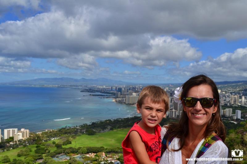 Havaí com criança