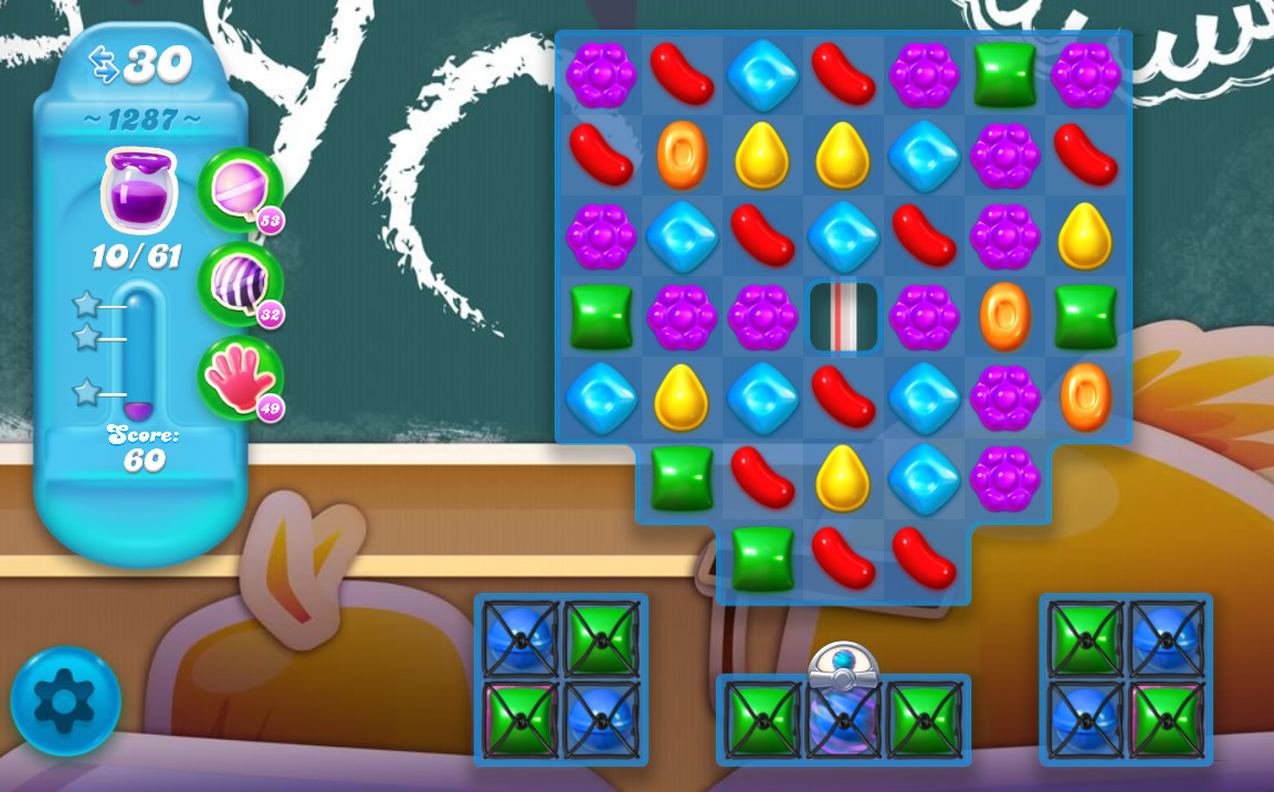 Candy Crush Soda Saga level 1287