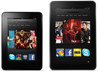 Amazon Kindle Fire HD and Fire HD 8.9