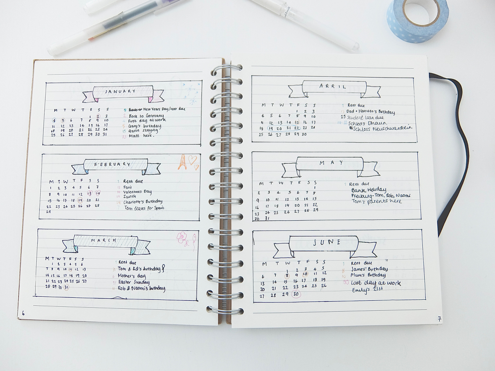 hannahemilylane: My Bullet Journal Setup