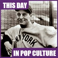 Lou Gehrig played his last baseball game on April 30, 1939.
