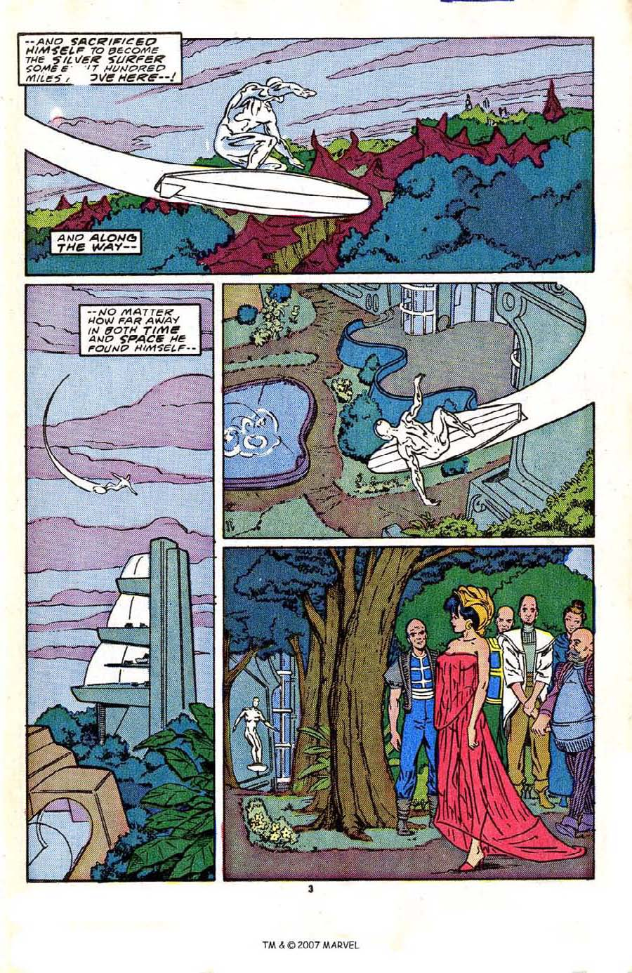Read online Silver Surfer (1987) comic -  Issue #2 - 5