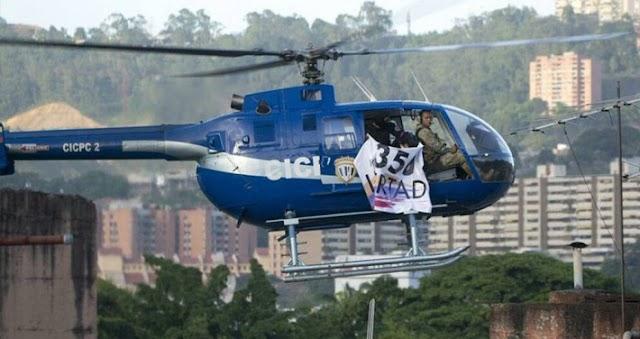 Se calienta Venezuela Policía sobrevuela Palacio pide renuncia de Maduro