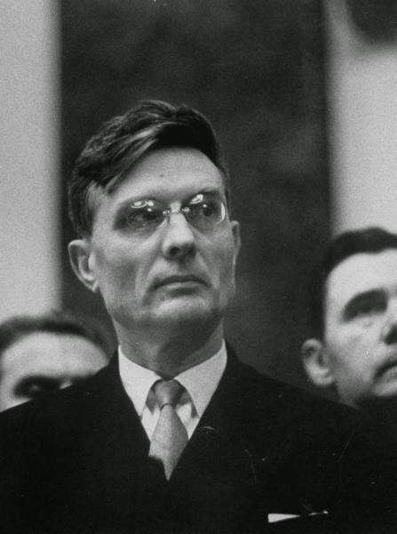 """Michail Suslov, """"l'ideologo capo""""."""