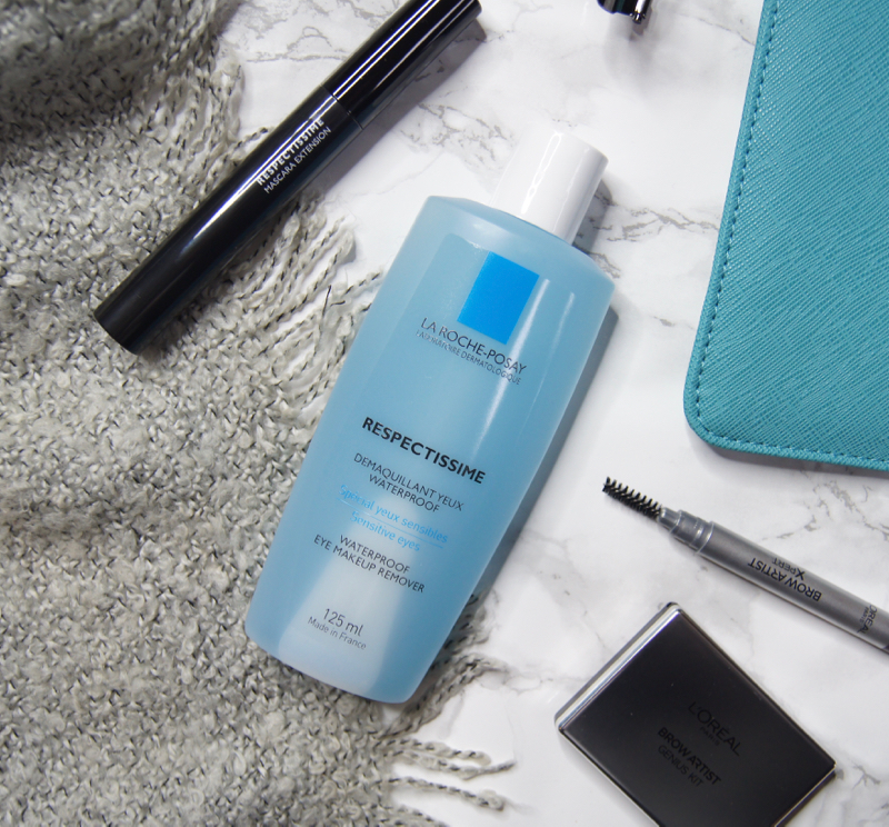la roche-posay respectissime waterproof eye makeup remover review perfect sensitive eyes