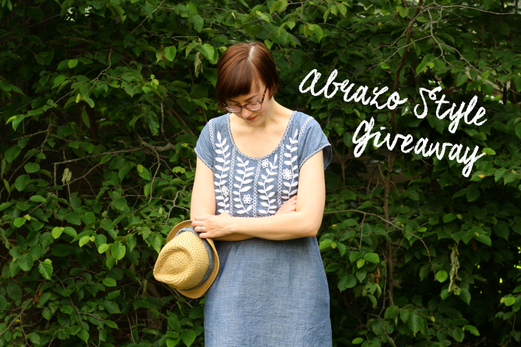 abrazo style mexican embroidered dress giveaway
