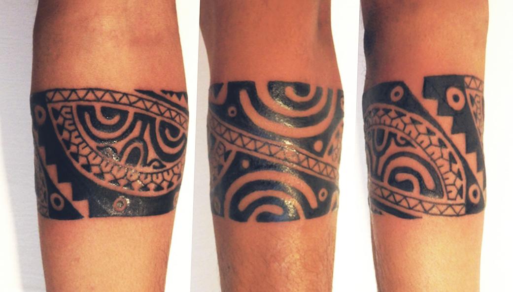 Tatuajes De Brazaletes Para El Brazo Latest Brazalete De Latn Parte