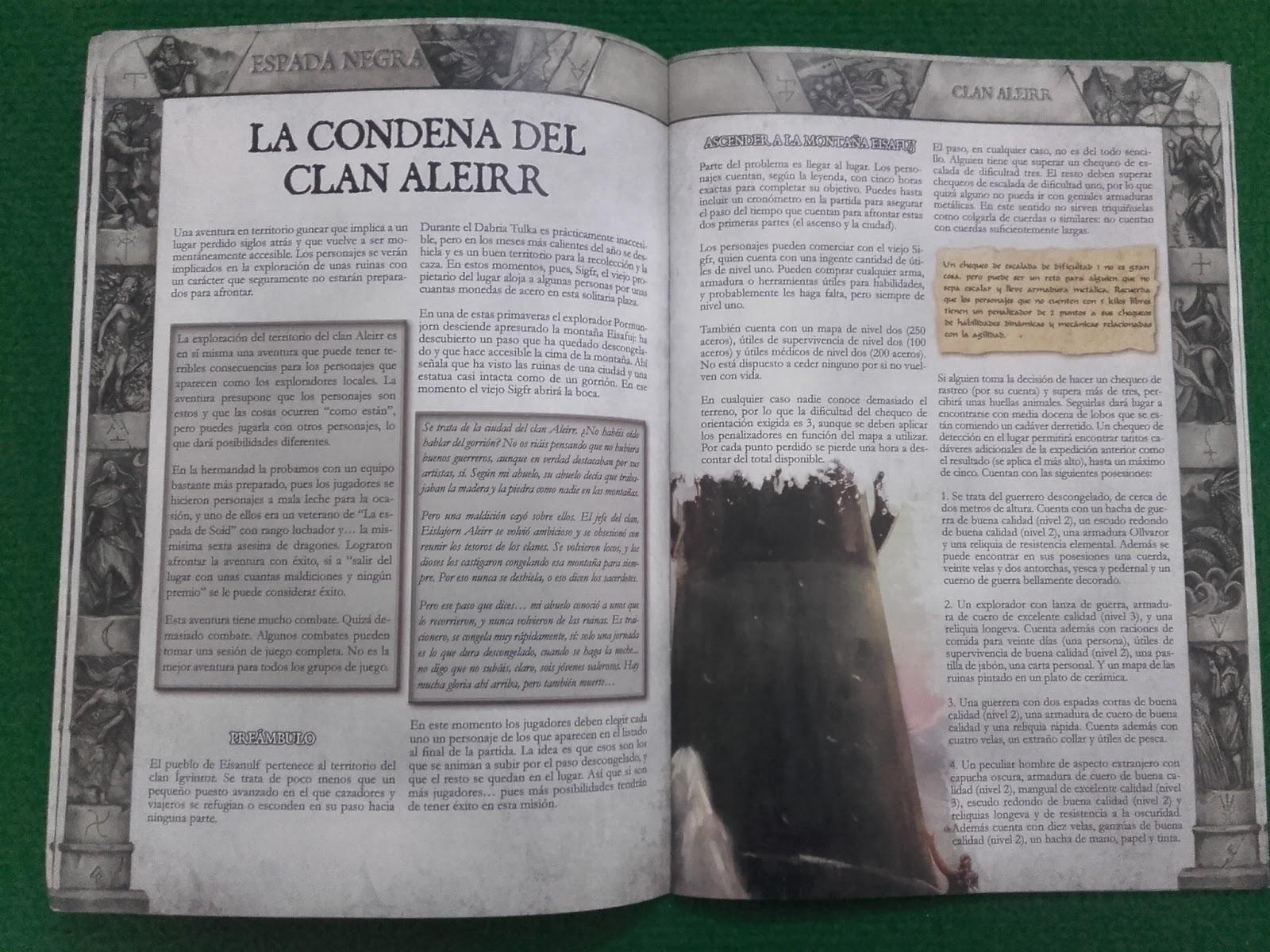 La Condena Del Clan Aleirr Aporte Fotográfico La Marca Del Este