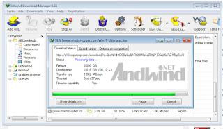 Cara mempercepat download menggunakan IDM